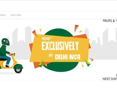Online Food & Grocery Delivery
