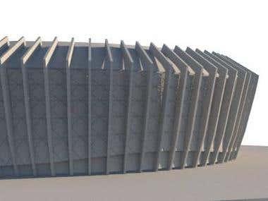 EXTERIOR CHampion league stadium