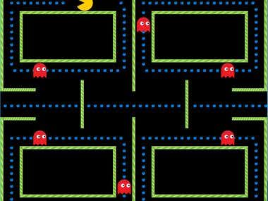 Pacman Game With python