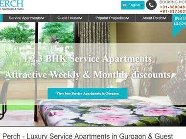 "#1 Google Rank on ""Service Apartments in Gurgaon"""