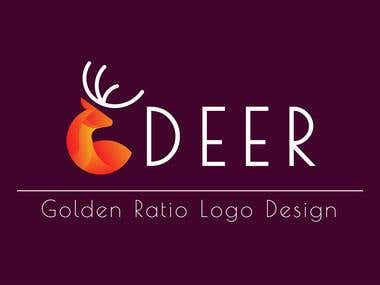 I will create logo design an Golden Ratio