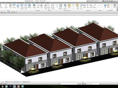 FLOOR PLAN AND 3D HOUSE DESIGN AUTO CAD/ REVIT WORK 2D-3D .