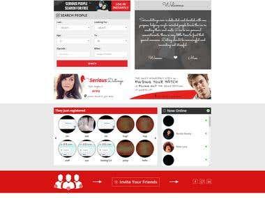 Dating website(Laravel)