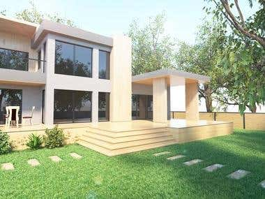 3D Visualization for Exterior