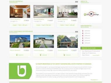 Home Page Website Design