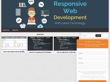 woordpress website