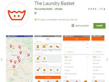online laundry service app