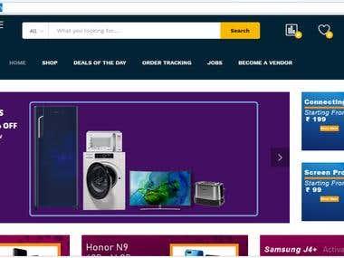 online mutivendor portal