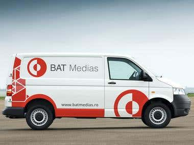 BAT Medias - Car branding