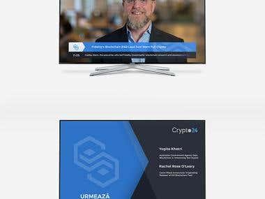 Crypto24 - Logo & Brand Identity