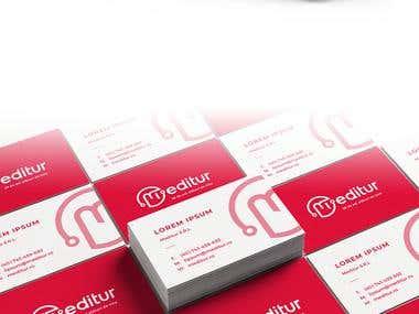 Meditur - Logo & Brand identity
