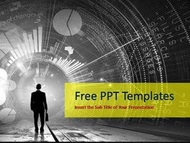 Professional PPT Standard Template creation