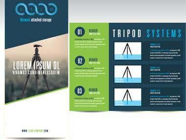 Tripod leaflet