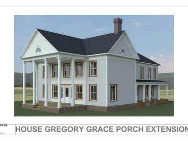 House Gregory Grace, NY State USA