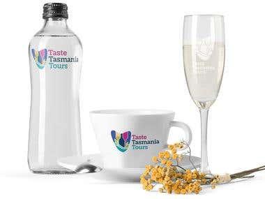 Taste Tasmania Tours - Logo Branding