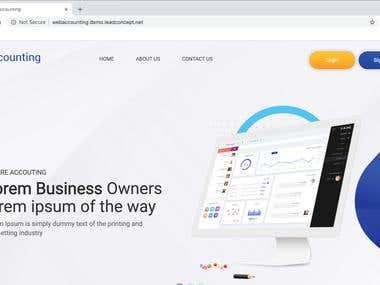 Web ERP Application Development