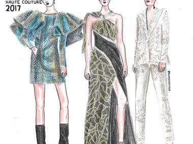 Fashion Illustration Series #2
