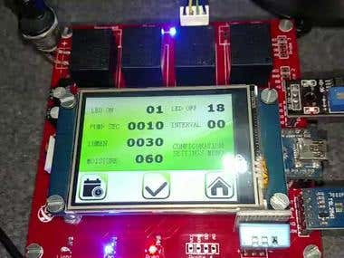 Green House controller system based on Arduino.