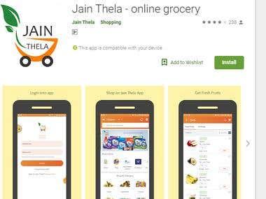 online grocery app and website