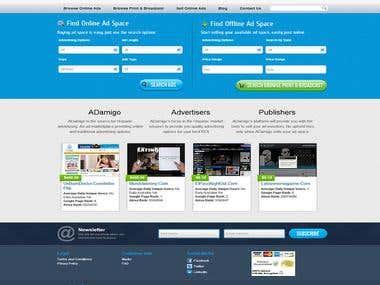Adamigo Website