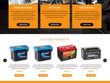 Online Purchase Battery for Car