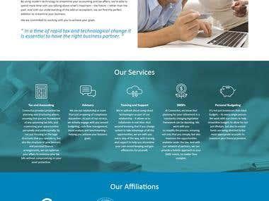 Connectus Desktop software website