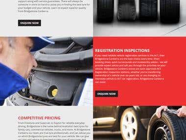 bridgestone Website