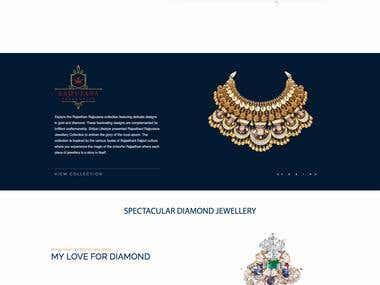 Shilpa Lifestyle - Jewellery Website