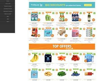 Trolley Ecommerce website