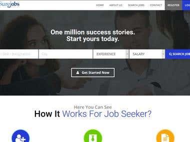 Job Portal : GetSureJobs.com