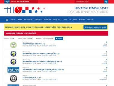 Hrvatski teniski savez (Croatian tennis association)
