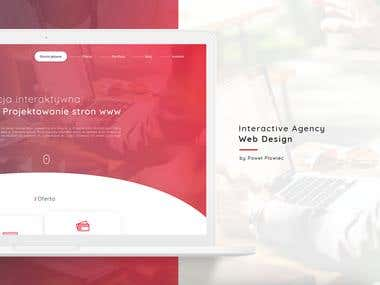 Design agency ui, web design