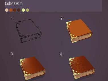 Game book design