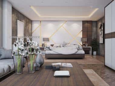 Master room Interior design