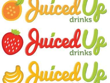 Logos - JuicedUp Drinks