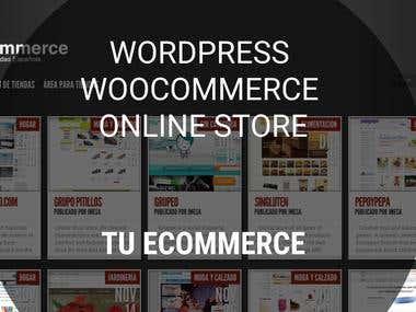 WordPress WooCommerce eCommerce Store - Tu Ecommerce