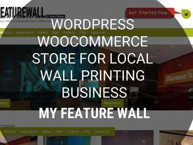 WordPress eCommerce Store and Business Site - MyFeature Wall