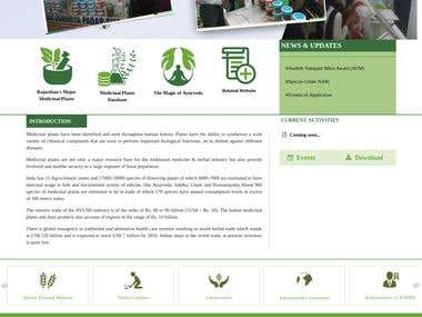 Drupal Based Website Indian Govt. Website www.rsmpb.in