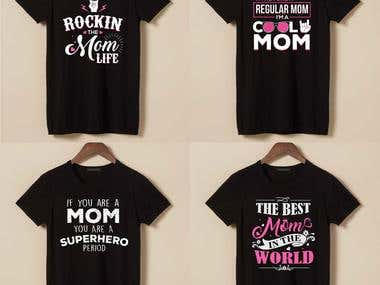 T-Shirt Designs for Mothers