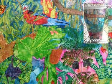 Biopak -Artist Series- Illustration