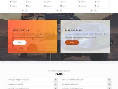 Drivesy Website Design
