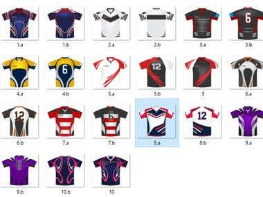 sublimation jerseys