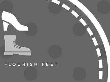 Flourish Feet Logo