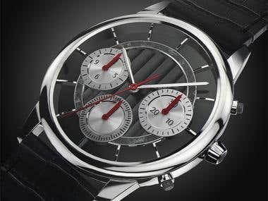 Slim Watch - Black