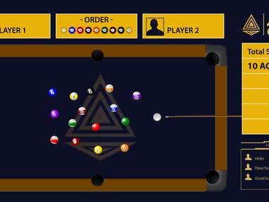 Billiards Game Design and Development