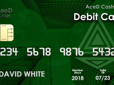 Debit card design for Vault