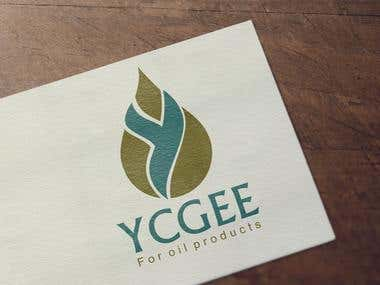 """Logo of """"YCGEE Co. For oil products"""""""