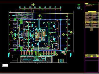 HVAC design- AUTOCAD