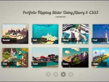 CSS JQUERY portfolio