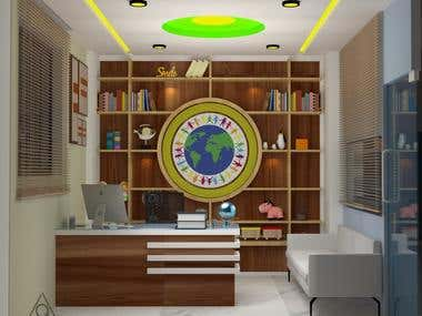PRE-SCHOOL , INTERIOR DESIGN